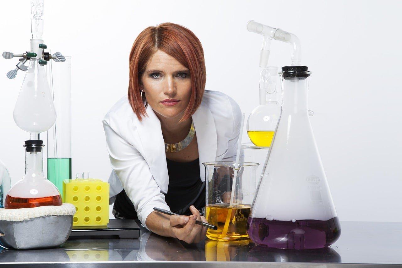 laboratory, lab, flask